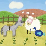 Petit âne va à l'école