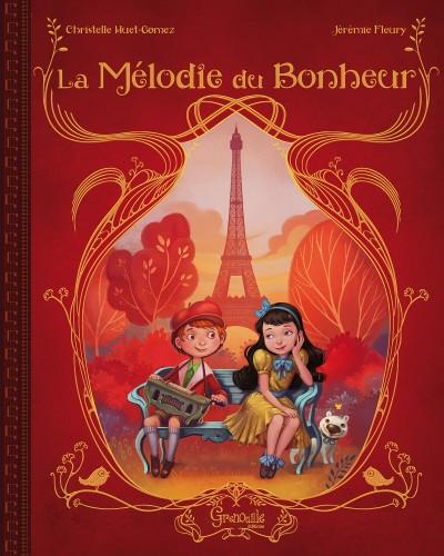 la mélodie du bonheur,éditions grenouille,jérémie fleury,album jeunesse
