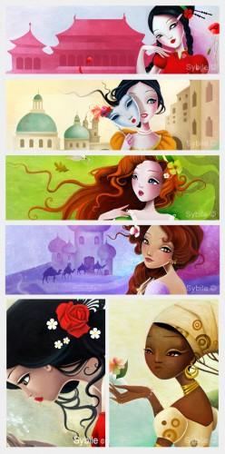 mon coffret de princesses et de bijoux,sybile,auzou,album jeunesse