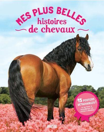 livre poster, histoires de chevaux