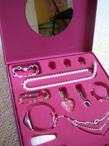 mon coffret de princesses et de bijoux, auzou, sybile