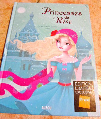 princesses de rêves, livre pour enfant, livre de princesses, sybile, album, auzou
