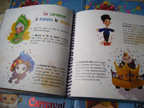 le roi carnaval, album jeunesse, line paquet, ditions grenouille