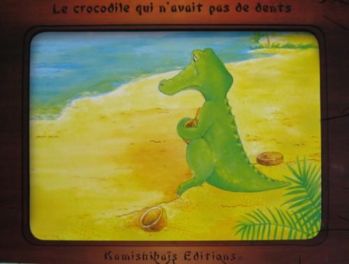 par mour, le crocodile qui n'avait pas de dents, kamishibais, isabelle gribout