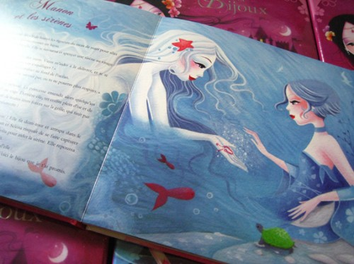 mon coffret de princesses et de bijoux, sybile, auzou