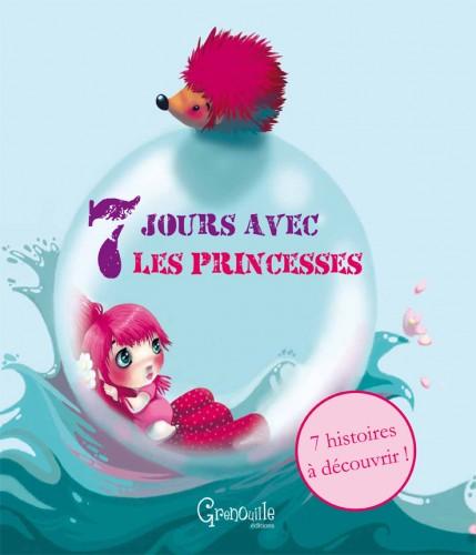 sept jours avec les pirates, sept jours avec les princesses, éditions Grenouille