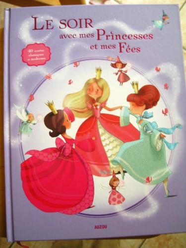 Le soir avec mes princesses et mes fées
