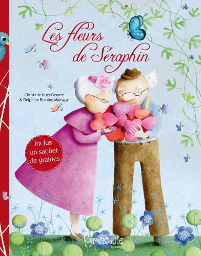 Les fleurs de sraphin, delphine brantus, ditions grenouille